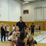 Auch die erfahrenen Aktiven übten Stunts in neuen personellen Zusammenstellungen